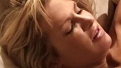 Blonde white wife with black lover – Interracial Cuckold Homemade