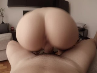 Morning creamy quickie to celebrate one million views ? (WITH CREAMPIE!)